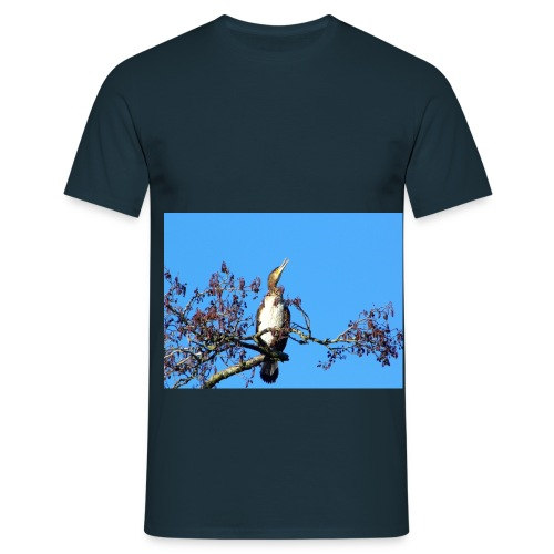 White Breasted Cormorant - Men's T-Shirt