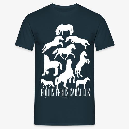 Equus Ferus Caballus - Miesten t-paita