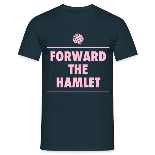 Forward The Hamlet logo - Men's T-Shirt
