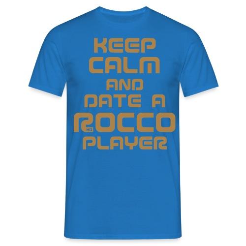 Keep Calm (Player) - Männer T-Shirt