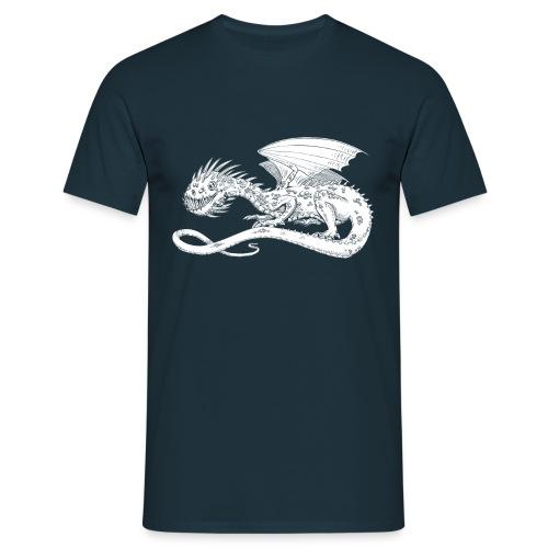 Pointy Dragon - Herre-T-shirt