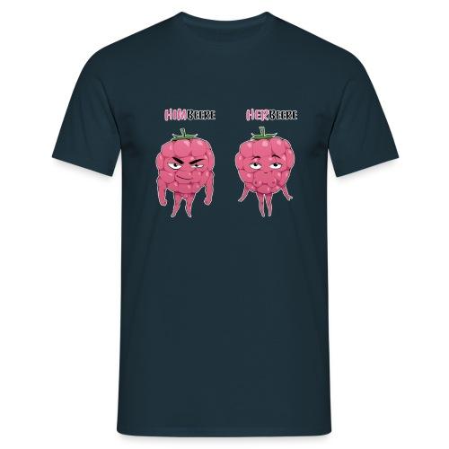 himbeere herbeere Kopie - Männer T-Shirt