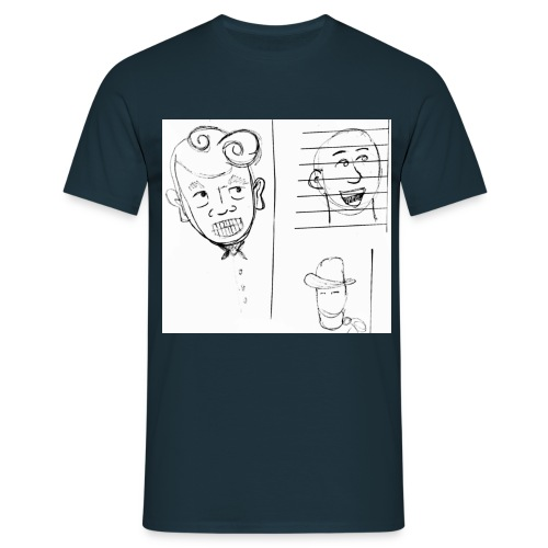 A Long Snog with a Distance Relative jpg - Men's T-Shirt