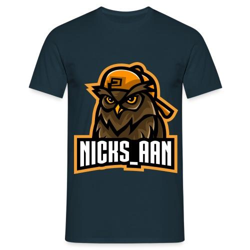 NICKS_AAN - Mannen T-shirt