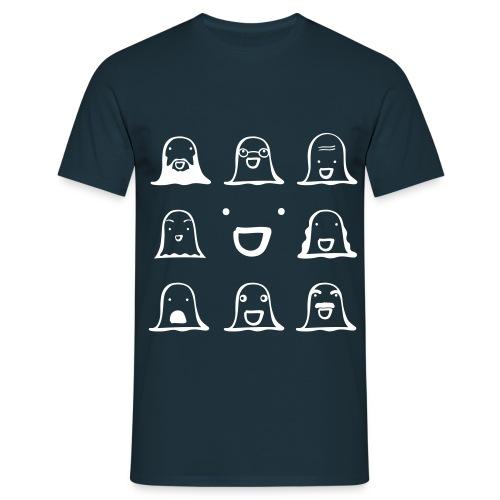 Ghost Family - Männer T-Shirt