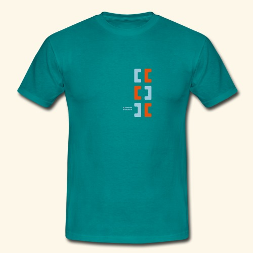 Hoa original logo v2 - Men's T-Shirt