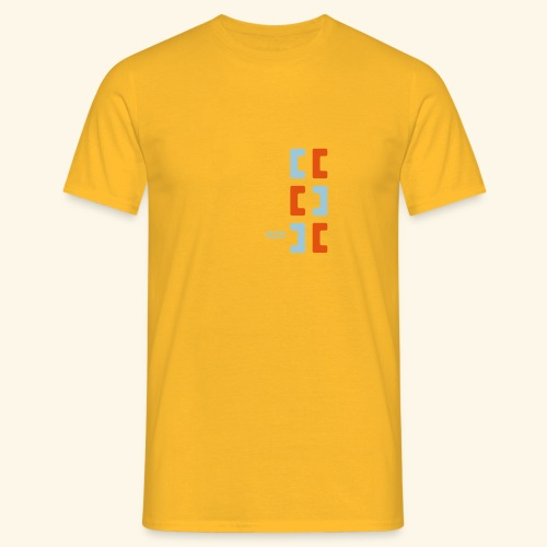 Hoa original logo v2 - Men's T-Shirt