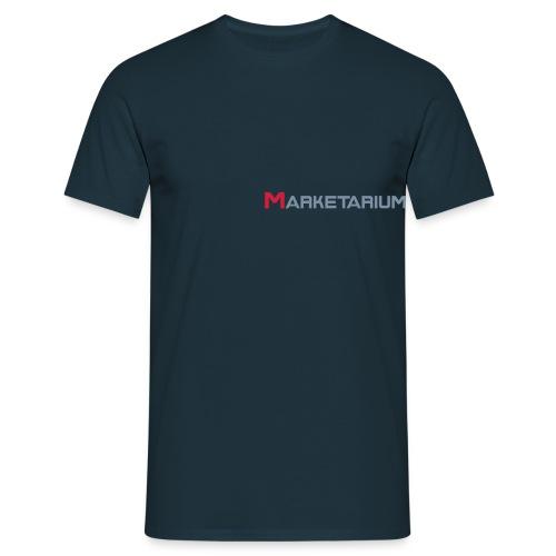 marketarium logo vect - Männer T-Shirt