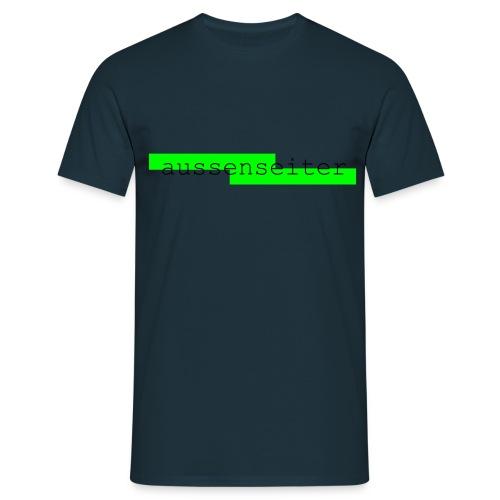 aussenseiterkurve - Männer T-Shirt
