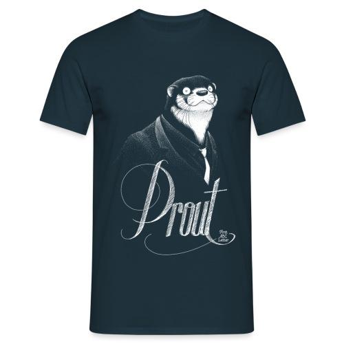 T-shirt_prout_loutre_01 - Men's T-Shirt