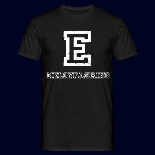 E - Meløyfjæring - T-skjorte for menn