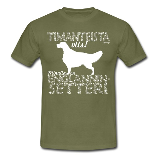 Englanninsetteri Timantti - Miesten t-paita