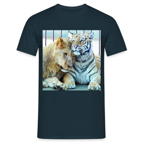 lejontiger - T-shirt herr