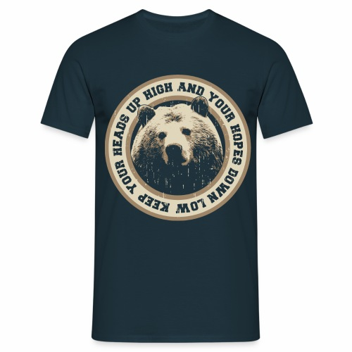 Bear - T-shirt Homme