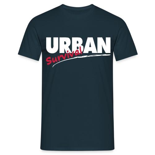 urban survival 3farbig - Männer T-Shirt