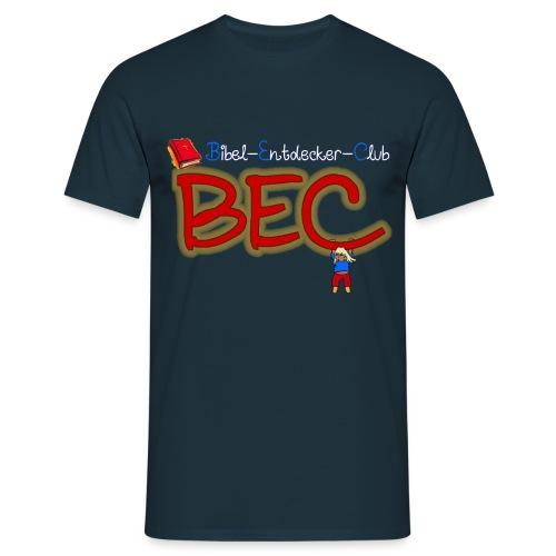 Shirt BEC Kids blueblack png - Männer T-Shirt