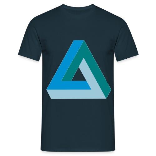 Penrose Dreieck - Männer T-Shirt