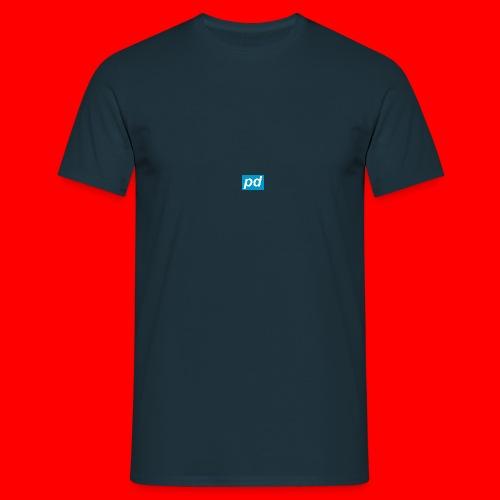 pd Blue - Herre-T-shirt