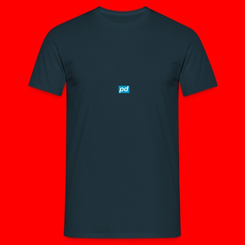 pd Blue - Herre-T-shirt