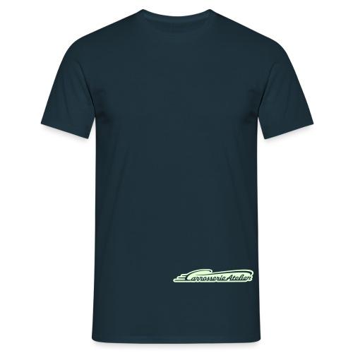 logo only cutout invert - Männer T-Shirt