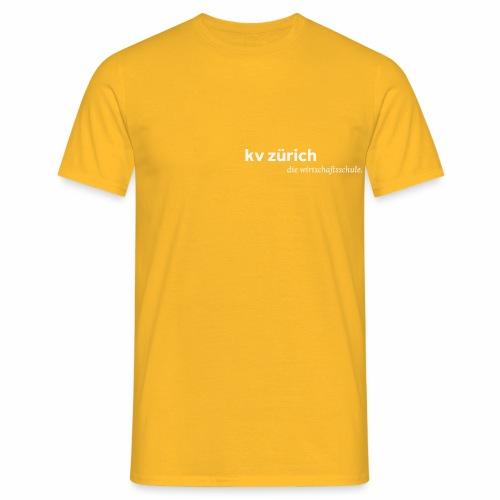 KVZ Logo Weiss - Männer T-Shirt