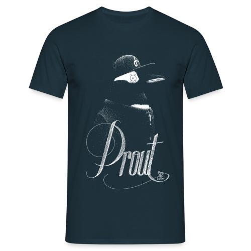 T-shirt_prout_pingouin_01 - Men's T-Shirt