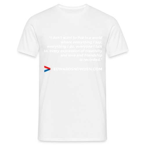 design_4_white - Men's T-Shirt