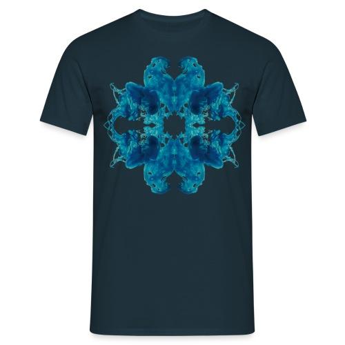 Tintenklecks unter Wasser - Männer T-Shirt
