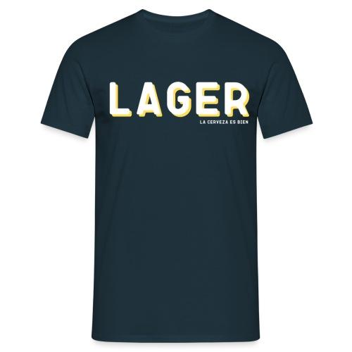 LAGER - Camiseta hombre