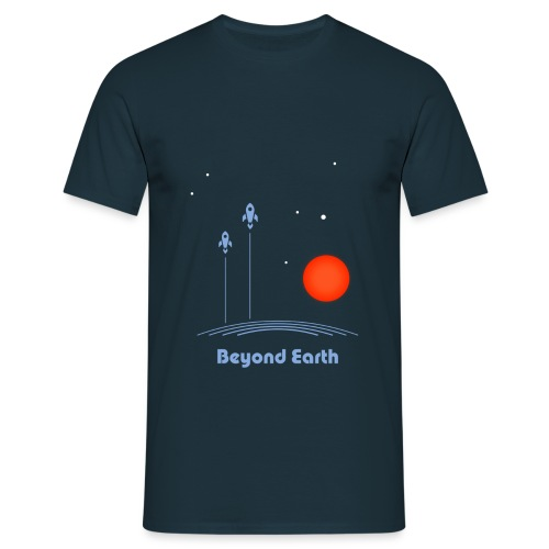 Beyond Earth - Männer T-Shirt
