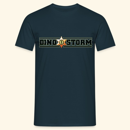 Dinostorm Logo New - Men's T-Shirt