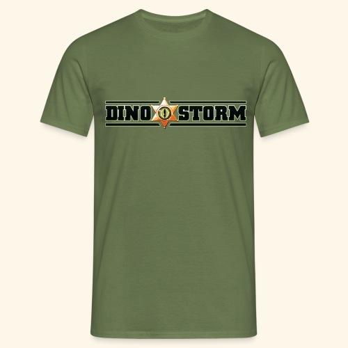 Dinostorm Logo New - Men's T-Shirt