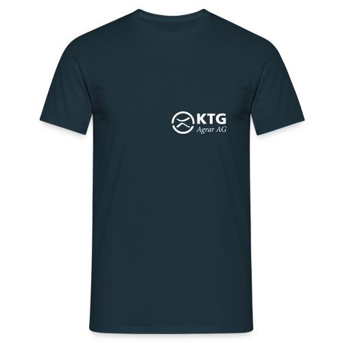 KTG Logo Weiss Vektor - Männer T-Shirt
