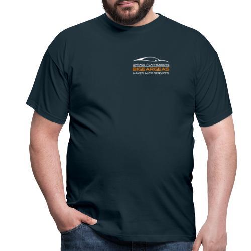 logo nas 2015 vecto blan - T-shirt Homme
