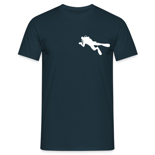 taucher solo - Männer T-Shirt