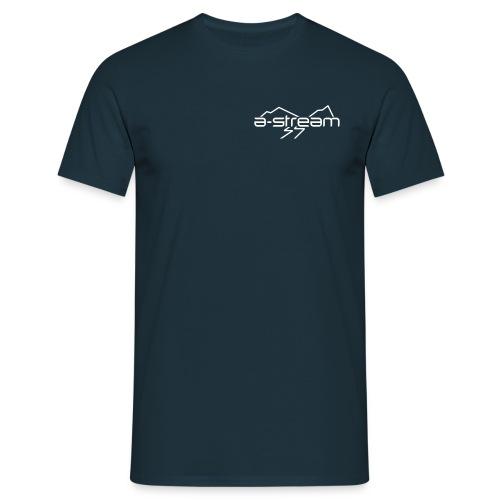 brystlogo vektorisert - T-skjorte for menn