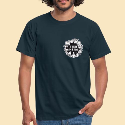 Tierheim Logo Schwarzweiss - Männer T-Shirt