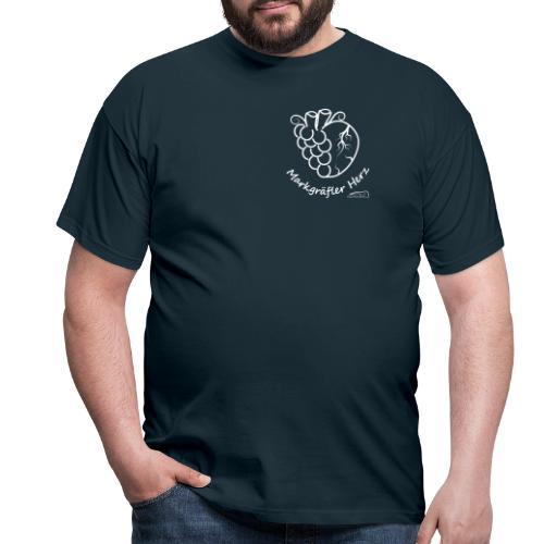Markgraefler Herz - Männer T-Shirt