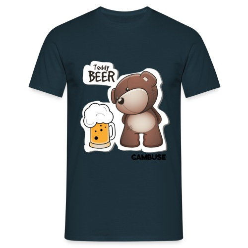 teddybeer 01 png - T-shirt Homme