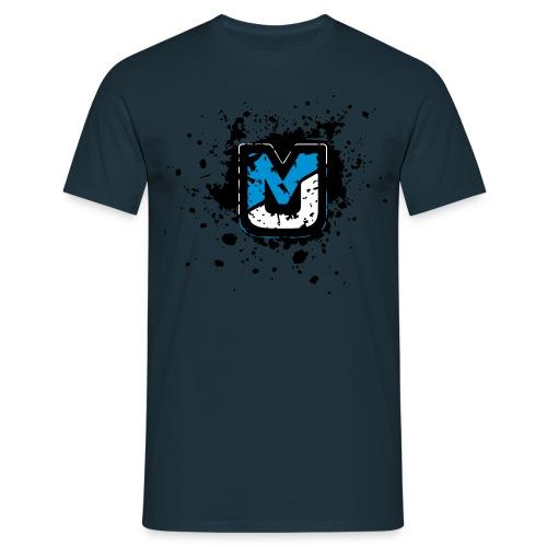 mj logo shatter neu2 - Männer T-Shirt