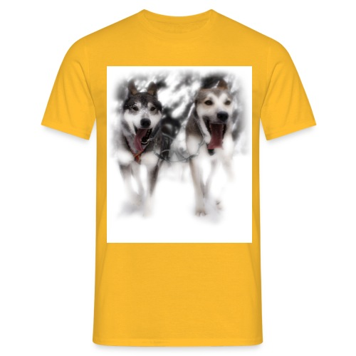 Lead-Dogs White - Männer T-Shirt