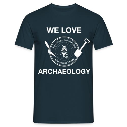 Logo FS Äg AO Archäologie - Männer T-Shirt