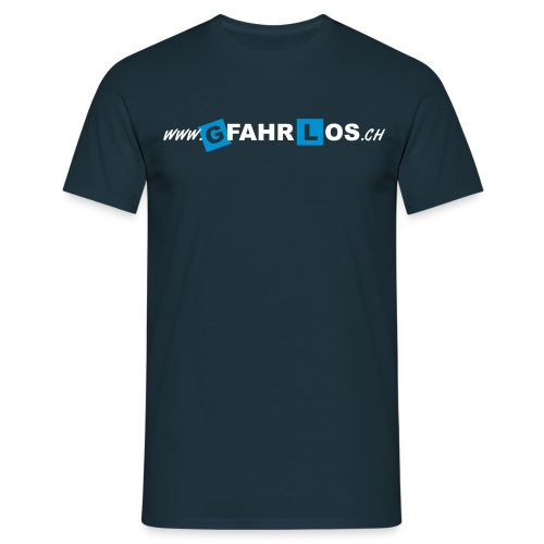 gfahrlos Webadresse ohne - Männer T-Shirt