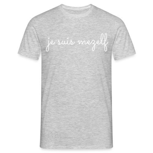 je suis mezelf - Mannen T-shirt