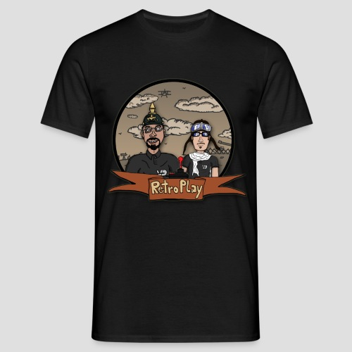 RetroPlay_WW1 - Männer T-Shirt