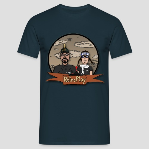 RetroPlay_WW1 - Männer T-Shirt