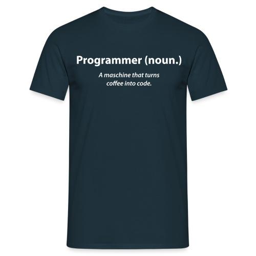 programmer_coffee - Männer T-Shirt