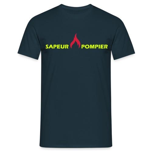 sapeur-pompier - T-shirt Homme