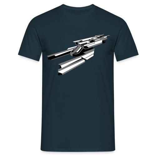 No Eyes Forcer - Men's T-Shirt
