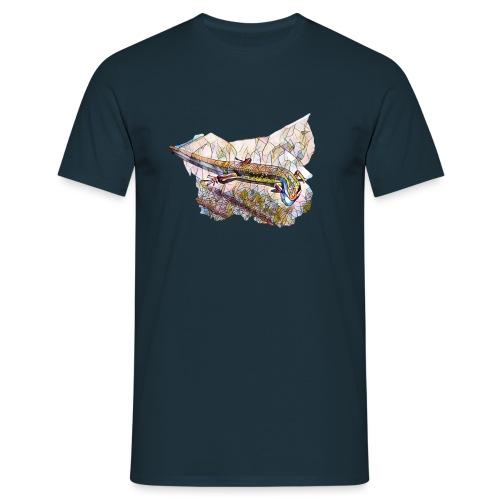 outTR gecko png - Men's T-Shirt